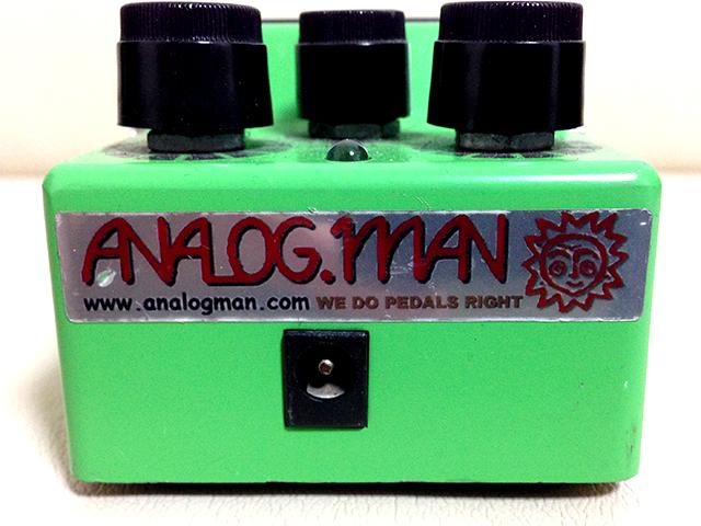 ギターを良い音にするエフェクター!TS-9 ANALOGMAN+RE-J による改造