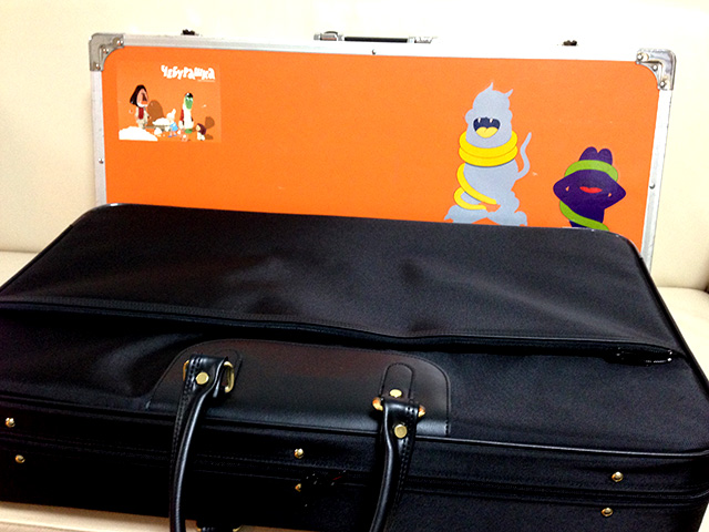 袴バッグと似ていたエフェクターボードの大きさと形と重さ