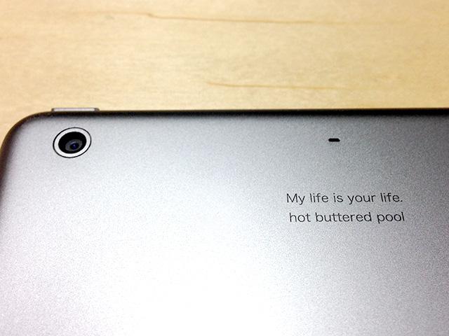 iPad mini Retina を片手で使いたい!これって日本人だけの要望なんでしょうか?