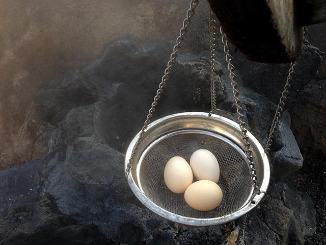 温泉卵ゆでたまご