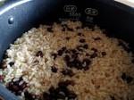 「酵素発芽玄米」酵素玄米を炊いて、さらに発芽もさせる。