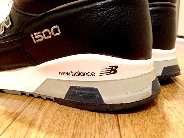 new balance 1500UKのソールを張り替えて履く。