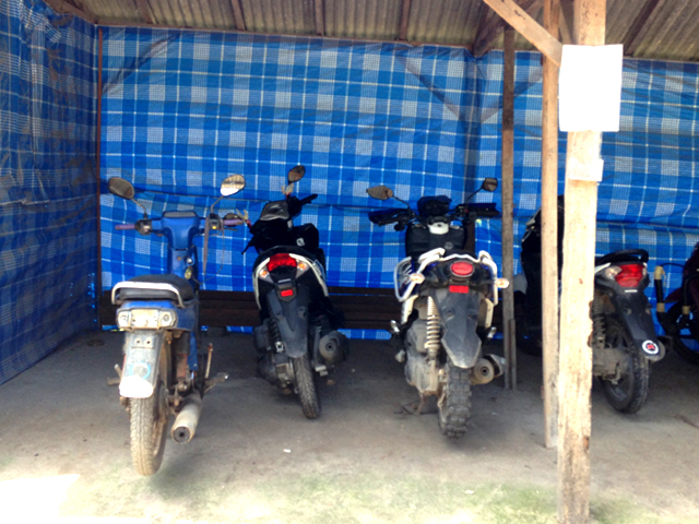 lembonganのバイク