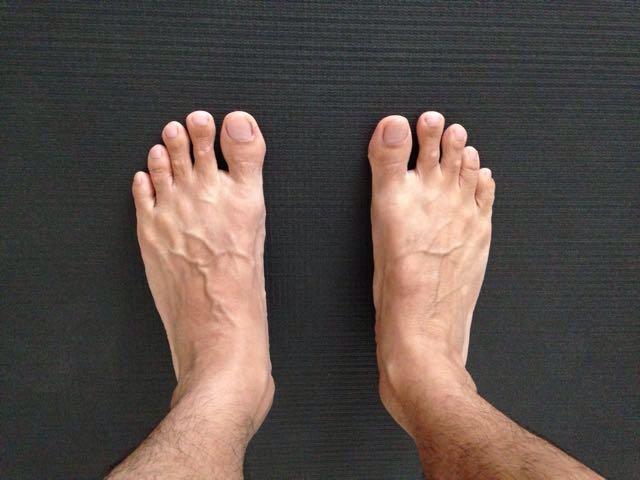 柔術をやり始めたら、足のサイズが大きくなりました。